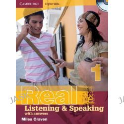 Cambridge English Skills Real Listening and Speaking 1 with Answers and Audio CD, Level 1 by Miles Craven, 9780521701983.