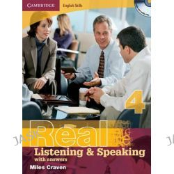 Cambridge English Skills Real Listening and Speaking Level 4 with Answers and Audio CDs, Cambridge English Skills by Miles Craven, 9780521705905.