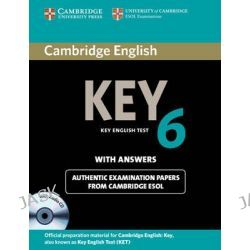 Cambridge English Key 6 Self-study Pack (student's Book with Answers and Audio CD), KET Practice Tests by Cambridge ESOL, 9781107691650.