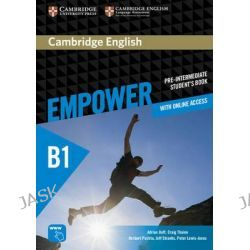 Cambridge English Empower Pre-Intermediate Student's Book with Online Assessment and Practice, and Online Workbook, Pre-intermediate by Adrian Doff, 9781107466524.