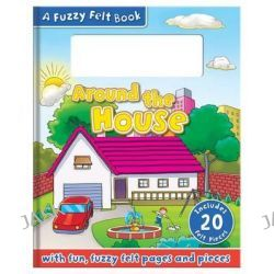 Around the House, Felt Activity Book, 9781783732432.