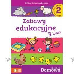 Zabawy edukacyjne 3-latka. Zeszyt z naklejkami 2