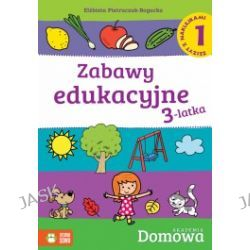 Zabawy edukacyjne 3-latka. Zeszyt z naklejkami 1