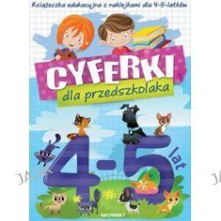 Cyferki dla przedszkolaka z naklejkami 4-5 lat