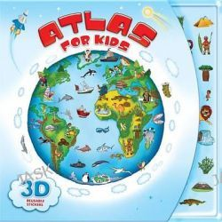 Atlas for Kids, Atlas for Kids by AZ Books, 9781618891457.