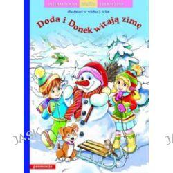Doda i Donek witają zimę. Interaktywna książka edukacyjna 3-6 lat