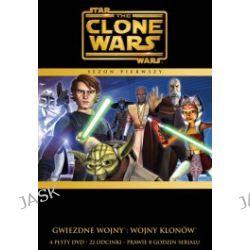 Gwiezdne Wojny: Wojny Klonów. Sezon 1 (4 DVD)