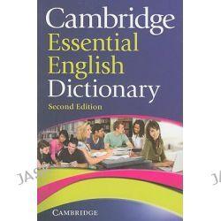 Cambridge Essential English Dictionary by Cambridge University Press Staff, 9780521170925.