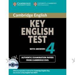 Cambridge Key English Test 4 Self Study Pack, Level 4 by Cambridge ESOL, 9780521670838.