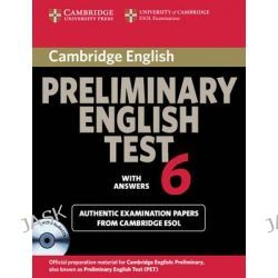 Cambridge Preliminary English Test 6 Self Study Pack (Student's Book with Answers and Audio CDs (2)): Test 6, Official E