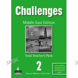 Challenges (Arab) 2 Total Teacher's Pack, Challenges by Michael Harris, 9781405848886.
