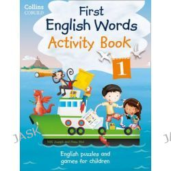 Collins First English Words - Activity Book 1, Age 3-7, 9780007523139.