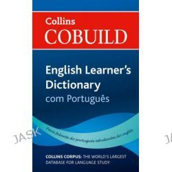 Collins Cobuild English Learner's Dictionary with Portuguese by ., 9780007431038.