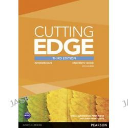 Cutting Edge Intermediate Students' Book and DVD Pack, Cutting Edge by Araminta Crace, 9781447936879.