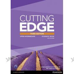 Cutting Edge Upper Intermediate Students' Book and DVD Pack, Cutting Edge by Peter Moor, 9781447936985.