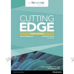 Cutting Edge Pre-Intermediate Students' Book with DVD and MyEnglishLab Pack, Cutting Edge by Peter Moor, 9781447944058.