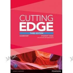 Cutting Edge Elementary Students' Book with DVD and MyEnglishLab Pack, Cutting Edge by Peter Moor, 9781447944034.