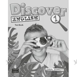 Discover English Global 1 Test Book, Discover English by Carol Barrett, 9781405866590.