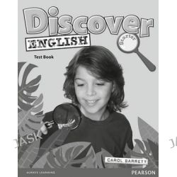 Discover English Global Starter Test Book, Discover English by Carol Barrett, 9781405866620.