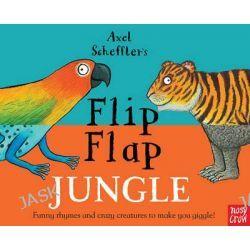 Axel Scheffler's Flip Flap Jungle by Axel Scheffler, 9780857634108.