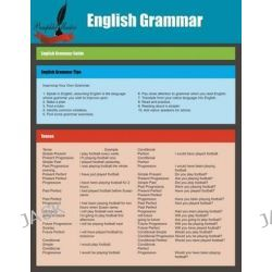 English Grammar, English Grammar Guide by Pamphlet Master, 9781634288088.
