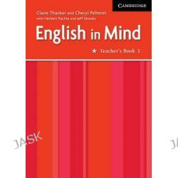 English in Mind 1, English in Mind Ser. by Claire Thacker, 9780521750516.