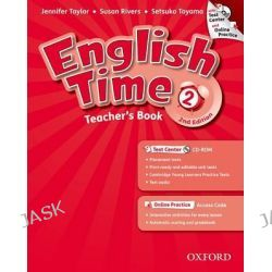 English Time, 2: Teacher's Book with Test Center and Online Practice, 9780194005876.