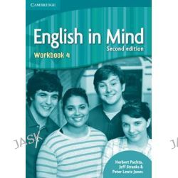 English in Mind Level 4 Workbook, Level 4 by Herbert Puchta, 9780521184472.