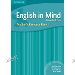 English in Mind Level 4 Teacher's Resource Book by Brian Hart, 9780521184502.