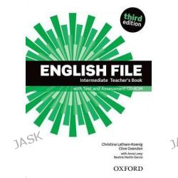 English File, Intermediate: Teacher's Book with Test and Assessment CD-ROM by Oxford Author, 9780194597173.