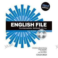 English File Pre-Intermediate, Workbook with Key and Ichecker by OXENDEN ET AL, 9780194598736.