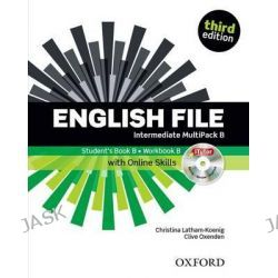 English File, Intermediate: Multipack B with iTutor and Online Skills by Clive Oxenden, 9780194597128.