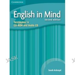 English in Mind Level 4 Testmaker CD-ROM and Audio CD by Sarah Ackroyd, 9780521184557.
