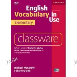 English Vocabulary in Use Elementary Classware by Michael McCarthy, 9780521175647.