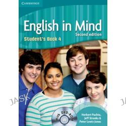 English in Mind Level 4 Student's Book with DVD-ROM by Herbert Puchta, 9780521184465.