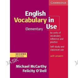 English Vocabulary in Use Elementary with Answers, Vocabulary in Use by Michael McCarthy, 9780521136174.