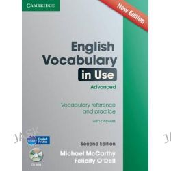 English Vocabulary in Use Advanced with CD-ROM, Vocabulary Reference and Practice by Michael J. McCarthy, 9781107637764.