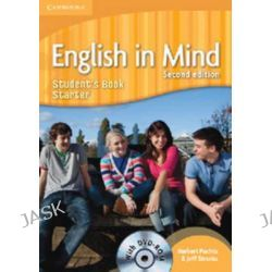 English in Mind Starter Level Student's Book with DVD-ROM, English in Mind Starter by Herbert Puchta, 9780521185370.