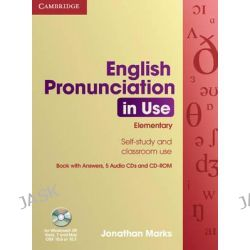 English Pronunciation in Use Elementary Book with Answers, 5 Audio CDs and CD-ROM, English Pronunciation in Use Ser. by Sylvie Donna, 9780521693738.
