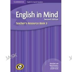 English in Mind for Spanish Speakers Level 3 Teacher's Resource Book with Class Audio CDs (4) by Brian Hart, 9788483237892.
