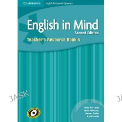 English in Mind for Spanish Speakers Level 4 Teacher's Resource Book with Class Audio CDs (4) by Brian Hart, 9788483238035.