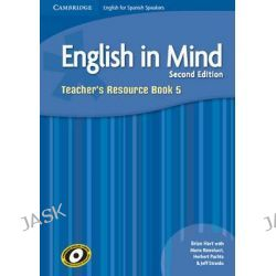English in Mind for Spanish Speakers Level 5 Teacher's Resource Book with Class Audio CDs (4) by Brian Hart, 9788483238059.