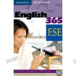 English365 Level 2 Personal Study Book with Audio CD ESE Malta Edition, 000003499 by Steve Flinders, 9780521725651.