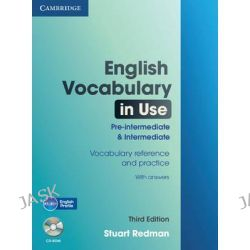 English Vocabulary in Use Pre-intermediate and Intermediate with Answers and CD-ROM by Stuart Redman, 9780521149891.