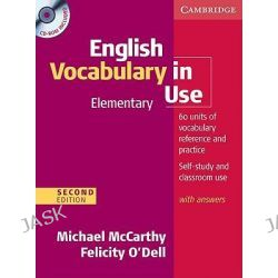English Vocabulary in Use Elementary with Answers and CD-ROM, Vocabulary in Use by Michael McCarthy, 9780521136204.