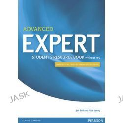 Expert Advanced Student's Resource Book Without Key, Expert by Jan Bell, 9781447980612.