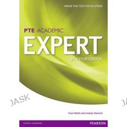 Expert Pearson Test of English Academic B1 Standalone Coursebook, Expert by Clare Walsh, 9781447975007.