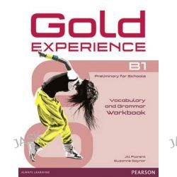 Gold Experience B1 Workbook without Key, Gold Experience by Jill Florent, 9781447913931.