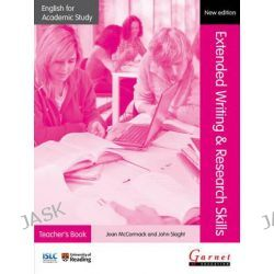 Extended Writing & Research Skills 2012, English for Academic Study S. by Joan McCormack, 9781908614315.