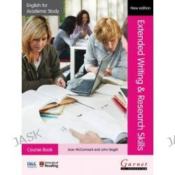 Extended Writing & Research Skills 2012, English for Academic Study (2012) by Joan McCormack, 9781908614308.
